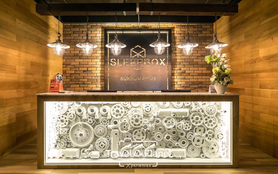 Sleepbox Sukhumvit 22 Lobby