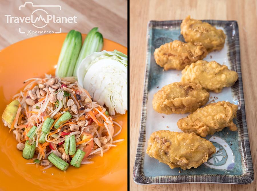 ร้านอาหารเกาหลี ปังเส้น - ส้มตำไทย-ไก่ทอด