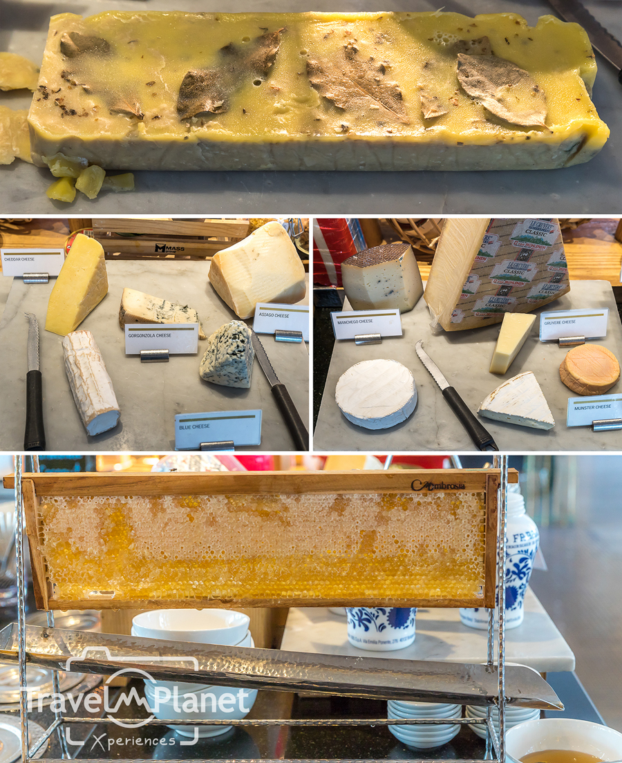 Sunday Brunch Le Meridien Suvarnabhumi - Cheese Station