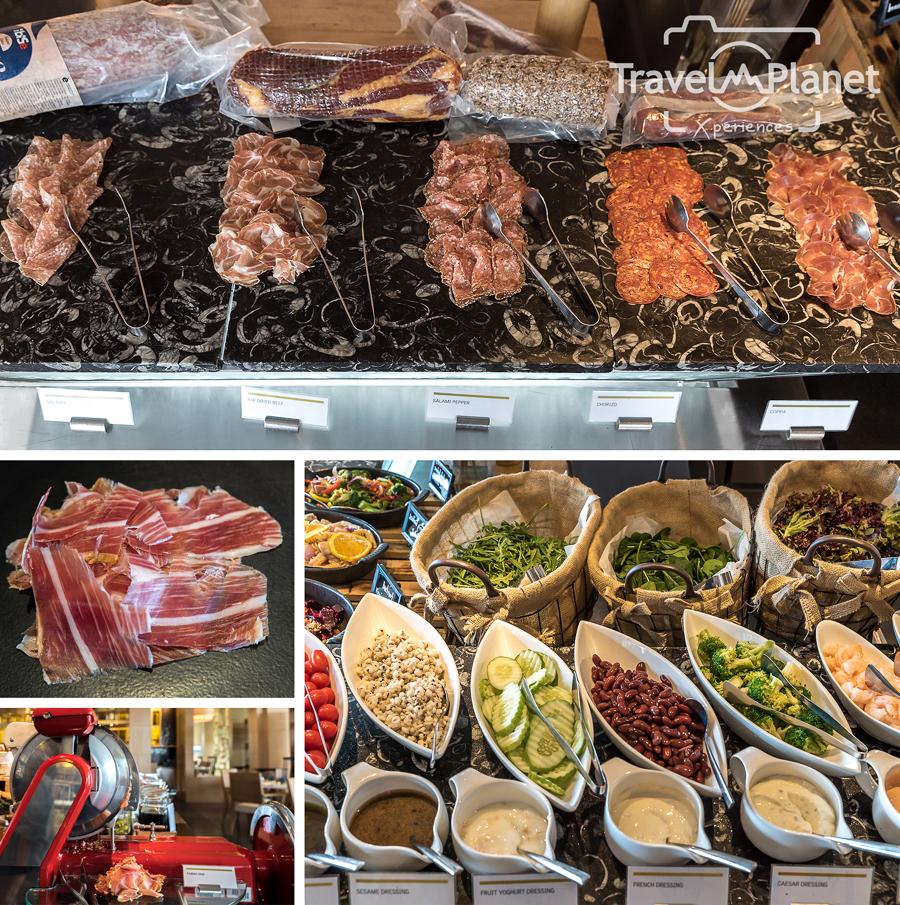 Sunday Brunch Le Meridien Suvarnabhumi - Cold cut salad
