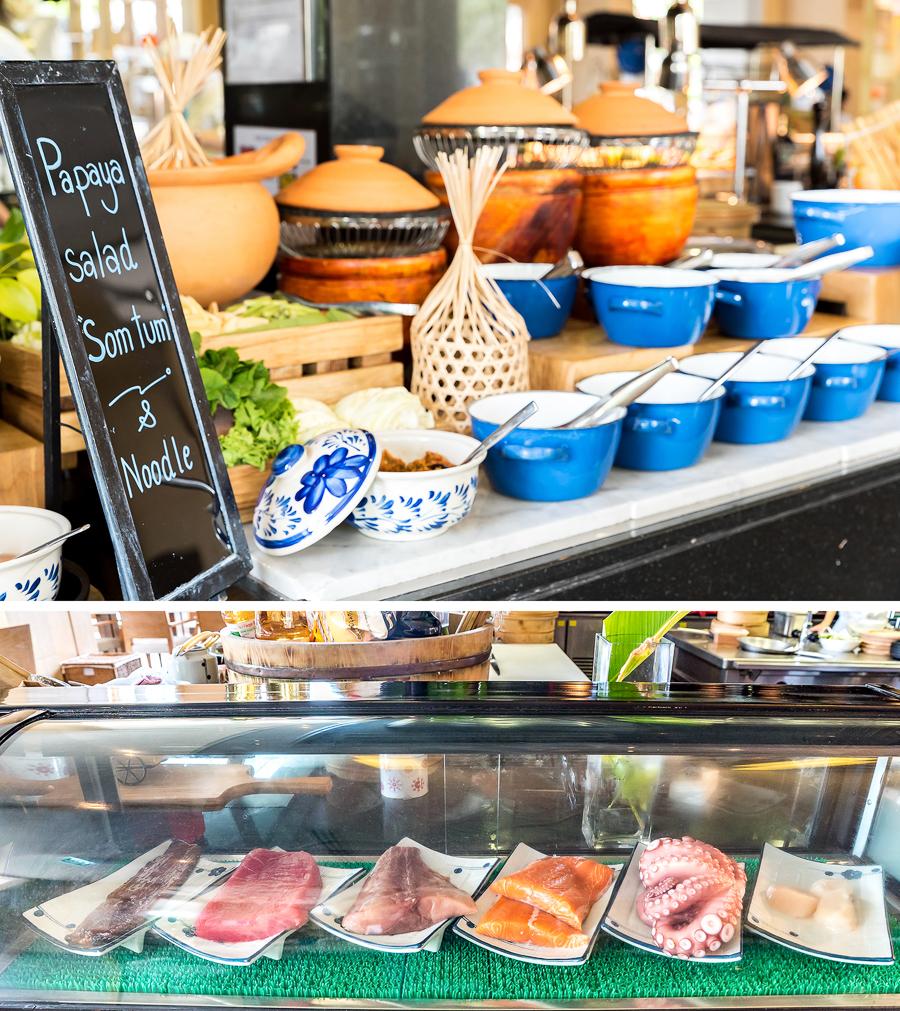 Sunday Brunch Le Meridien Suvarnabhumi - Thai Japanese Cuisine
