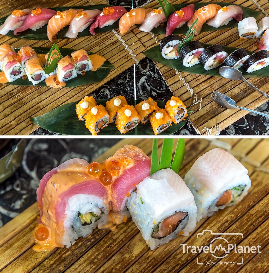 Sunday Brunch Le Meridien Suvarnabhumi - Sushi Sashimi Station