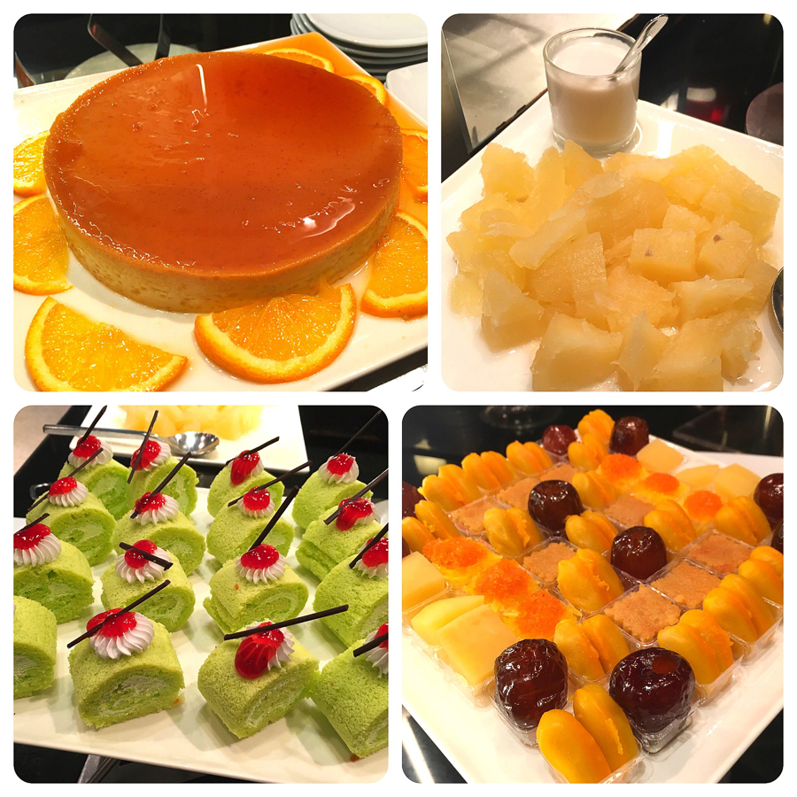 THE SQUARE dessert Station
