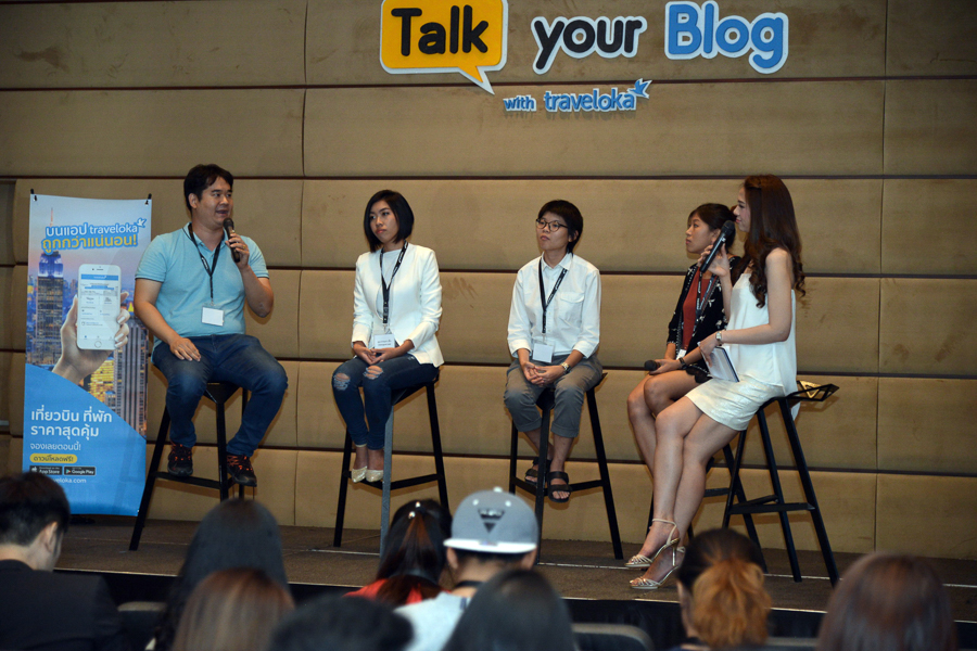 Talk your blog with Traveloka