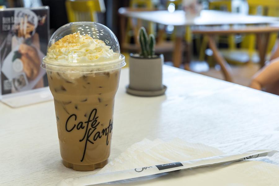 Iced Kantary Coffee Cafe Kantary KADFARANG คาเฟ่แคนทารี กาดฝรั่ง