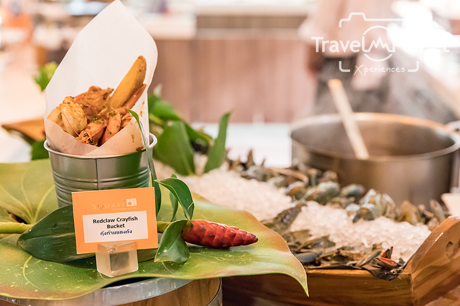 กุ้งถัง Crazy Crayfish NOVOTEL BANGKOK IMPACT