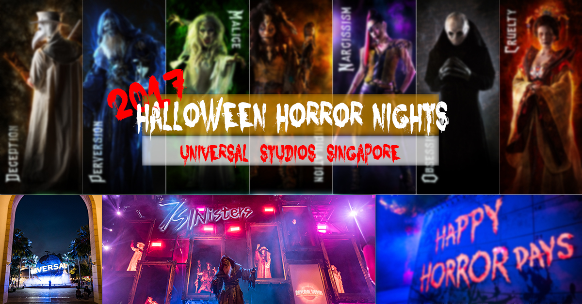 USS Universal Studios Singapore Halloween Nights