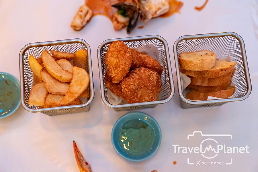 เมนูกุ้งถัง Sea-to-Table ห้องอาหาร Seasonal Tastes โรงแรม The Westin Grande Side dish