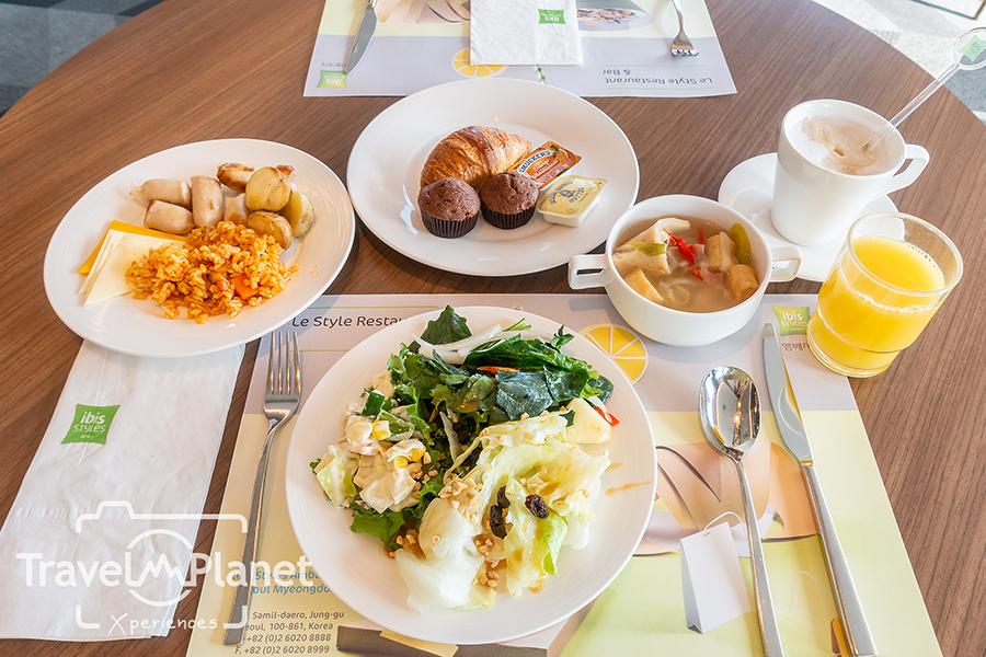 ibis Styles Ambassador Seoul Myeongdong Hotel Facility Laundry Le Style Restaurant Breakfast