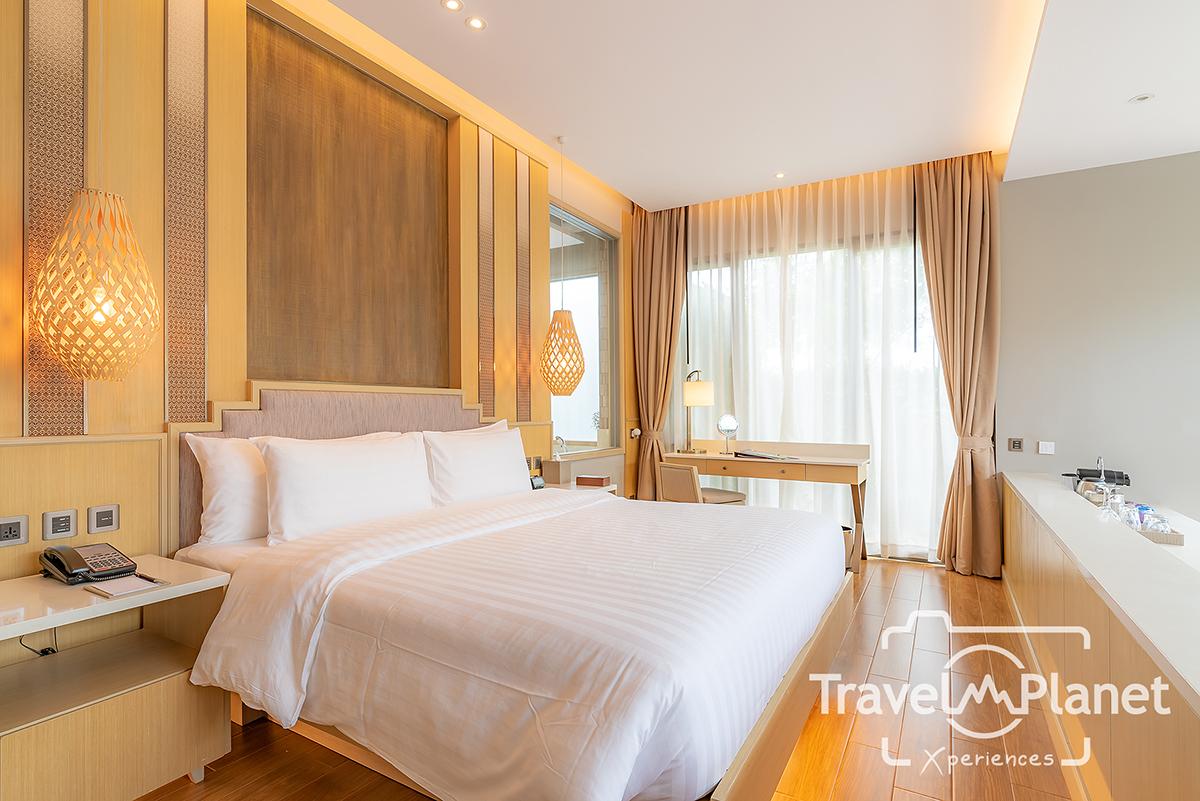 ห้องนอน เตียงใหญ่ AVANI Lagoon Pool Villa