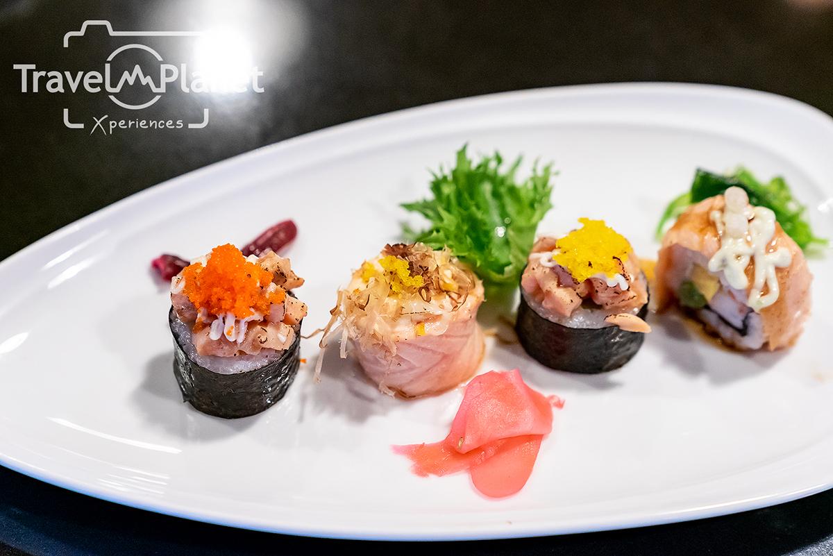 บุฟเฟ่ต์ Flavors of Asia อาหารญี่ปุ่น