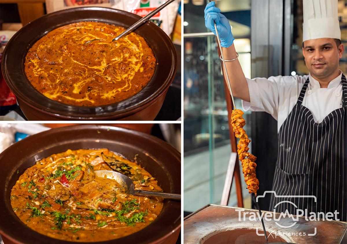 บุฟเฟ่ต์ Flavors of Asia อาหารอินเดีย