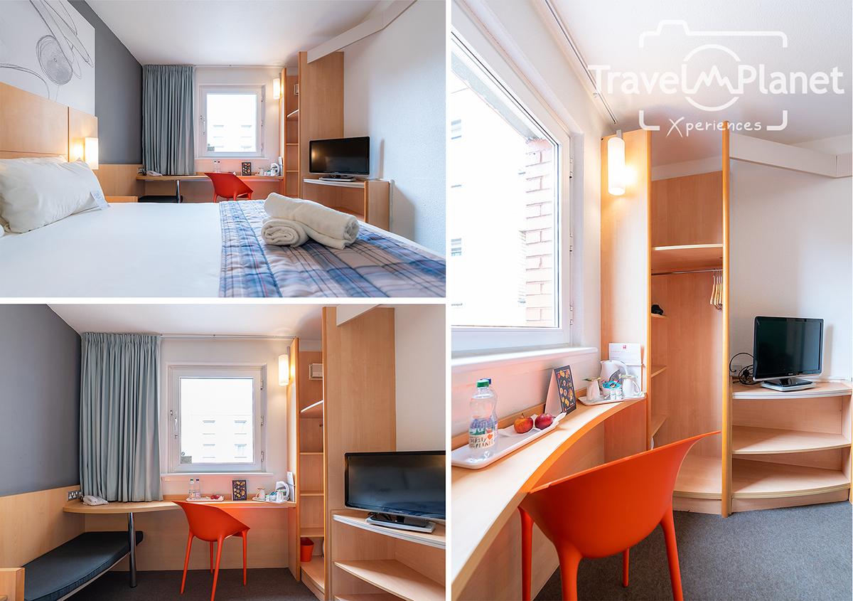 ibis Glasgow City Centre - Sauchiehall Street Hotel double room