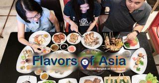 บุฟเฟ่ต์ Flavors of Asia Novotel Bangkok Siam Square