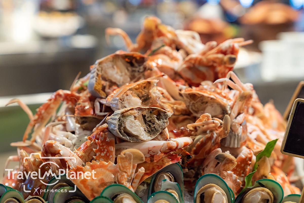 โอ้ มัน กุ้ง! บุฟเฟ่ต์กุ้งและซีฟู้ด โรงแรมโนโวเทลกรุงเทพสยามสแควร์ Seafood on ice