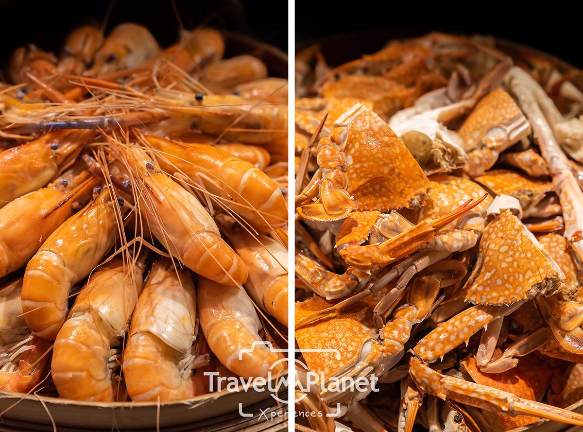 บุฟเฟ่ต์ปู ปูหิมะ ปูม้า ขาปูยักษ์ Crab Carnical Pullman Bangkok Grande Sukhumvit - Atelier