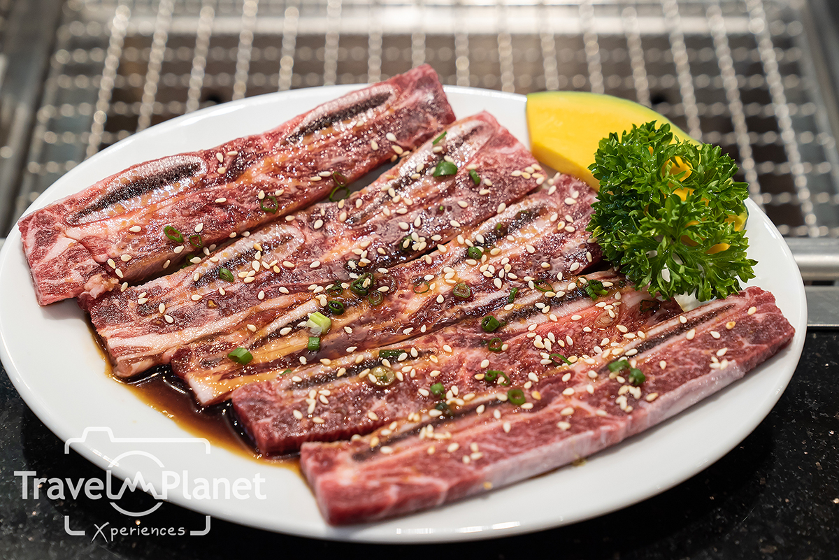 Honetsuki Karubi เนื้อซี่โครงติดกระดูก