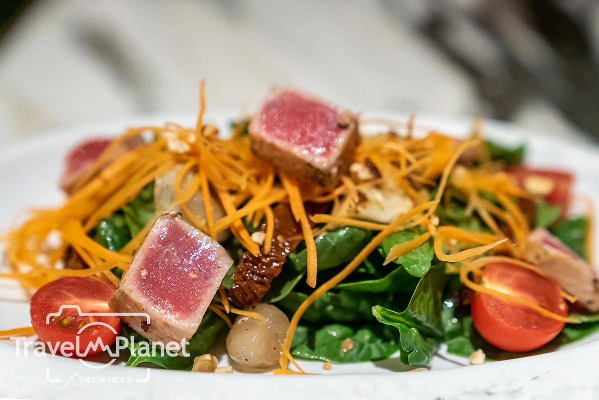 Hungry hub Scalini Buffet Hilton Sukhumvit Bangkok - Baby Spinach Salad