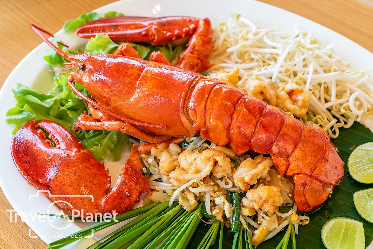 เสวย พัทยา Savoey Terminal 21 Pattaya ผัดไทย Canadian Lobster
