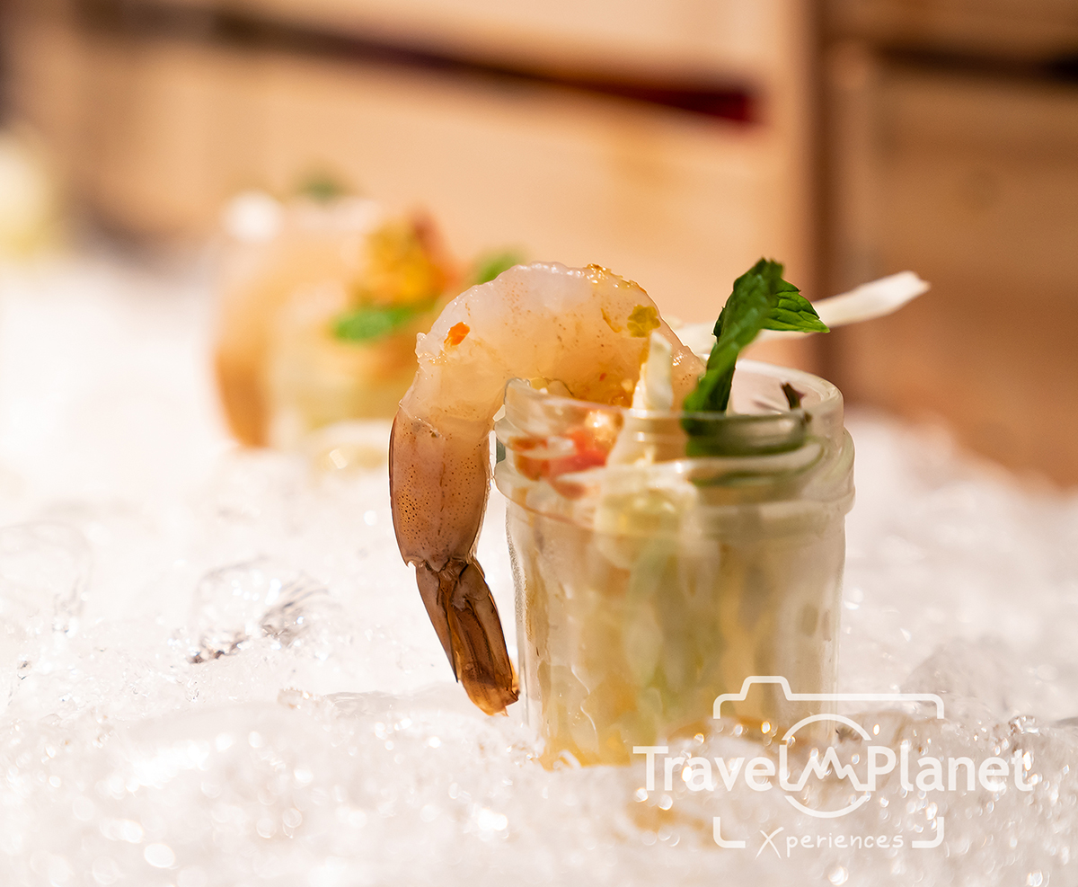 Appetizer บุฟเฟ่ต์กุ้งเผา ร้านอาหารเดอะสแควร์โรงแรมโนโวเทล กรุงเทพ ฟีนิกซ์ สีลม