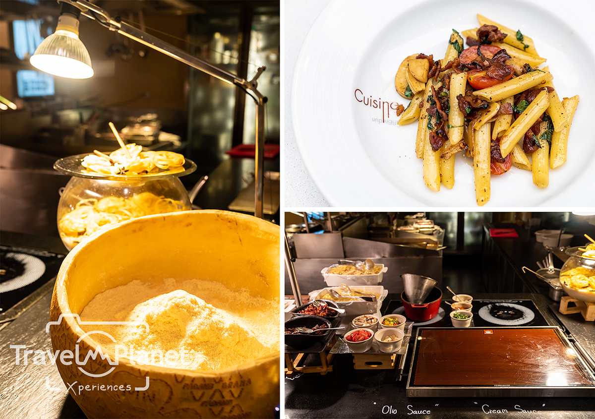 Premium Seafood BBQ Alaskan King Crabs - Pullman Bangkok King power - Pasta