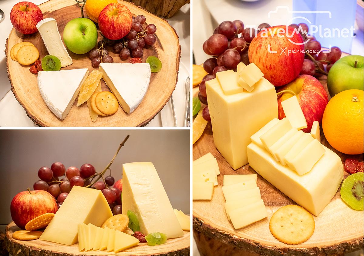 ห้องอาหารเดอะ เบอร์เคลีย์ ไดนิ่ง รูม โรงแรมเดอะ เบอร์เคลีย์ ประตูน้ํา - Cheese Vareity