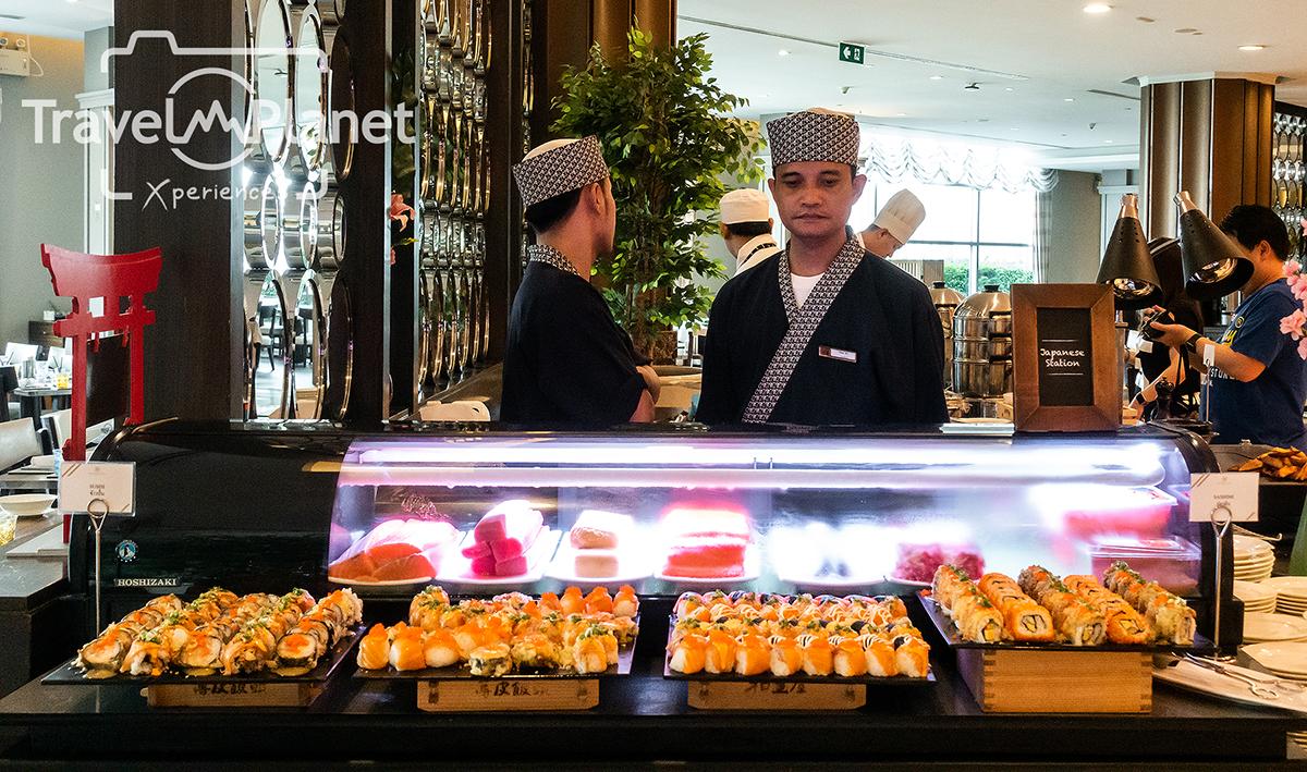 ห้องอาหารเดอะ เบอร์เคลีย์ ไดนิ่ง รูม โรงแรมเดอะ เบอร์เคลีย์ ประตูน้ํา - อาหารญี่ปุ่น