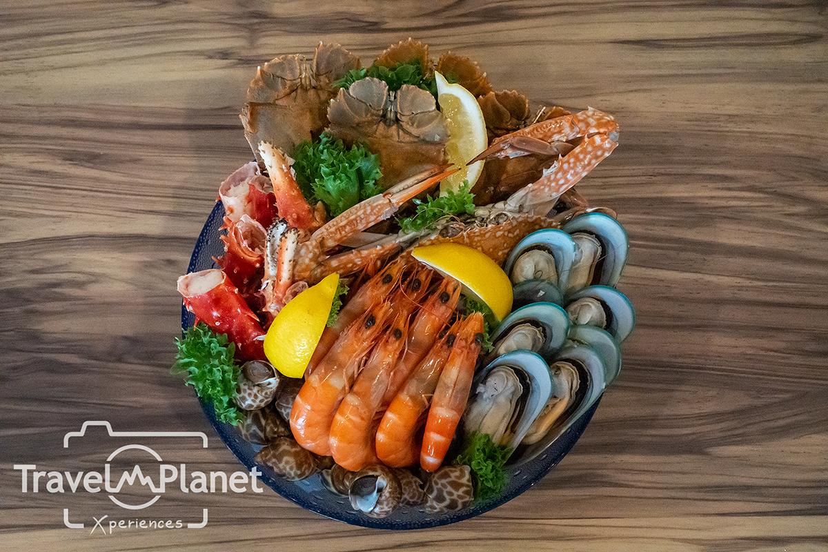 ห้องอาหารเดอะ เบอร์เคลีย์ ไดนิ่ง รูม โรงแรมเดอะ เบอร์เคลีย์ ประตูน้ํา - Seafood on ice