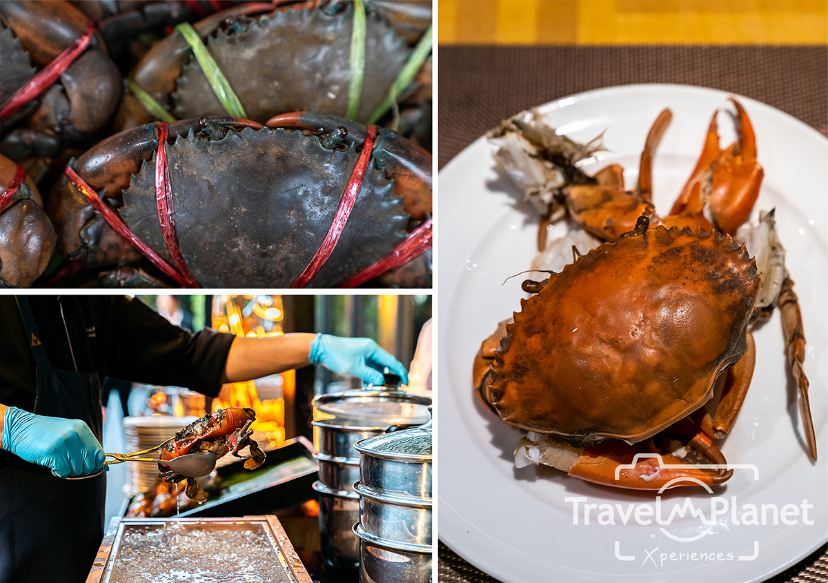 100° East Anantara Sathorn Bangkok  Seafood Buffet