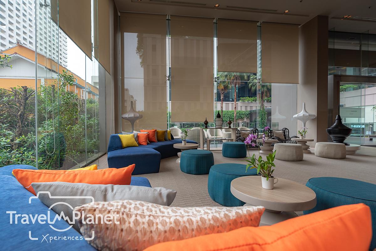 โรงแรมเมอร์เคียว พัทยา โอเชี่ยน รีสอร์ท -Mercure Pattaya Ocean Resort Lobby ล็อบบี้