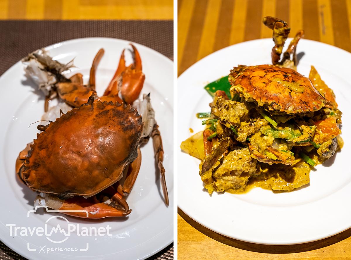 100° East Anantara Sathorn Bangkok  Seafood Buffet ปูเป็น