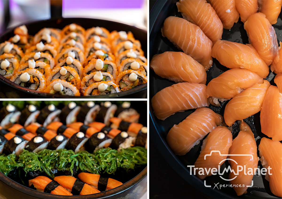 100° East Anantara Sathorn Bangkok  Seafood Buffet อาหารญี่ปุ่น
